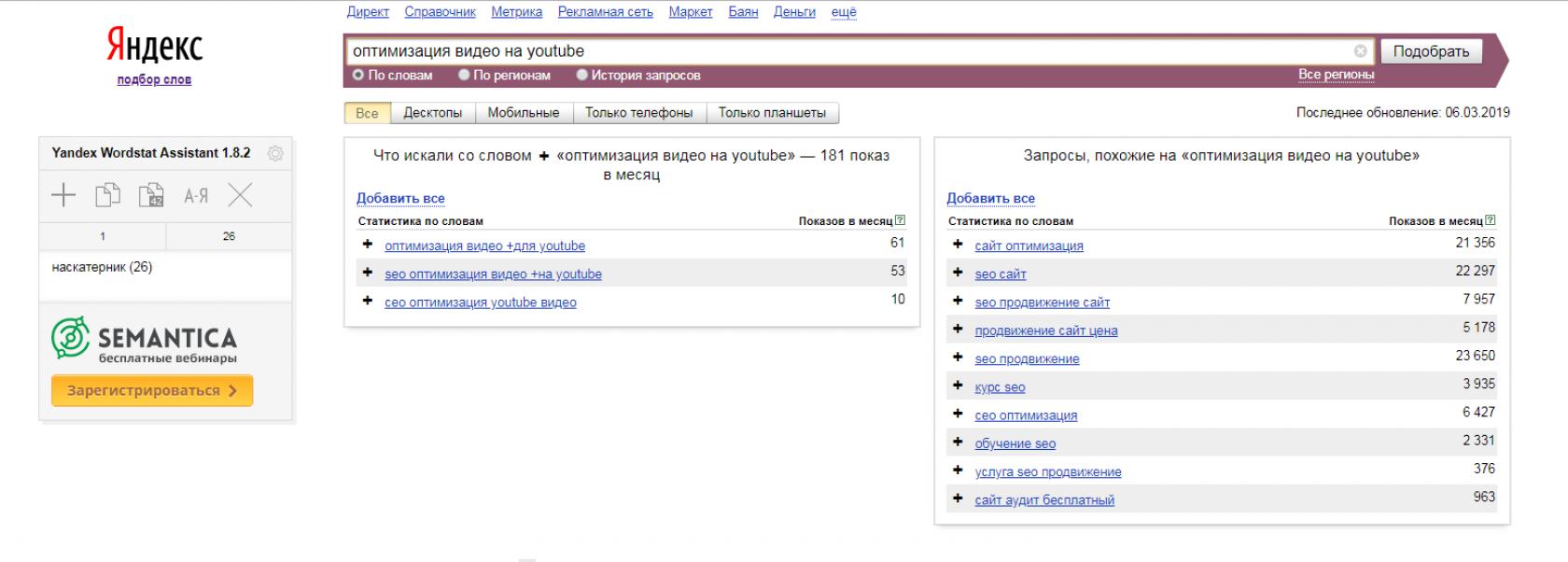 Сайты для оптимизации видео seo продвижение интернет магазина solution red